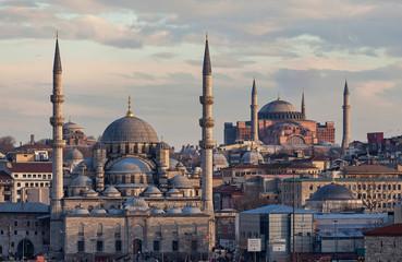 New mosque and Hagia Sophia