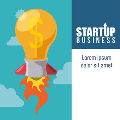 Business start up design.