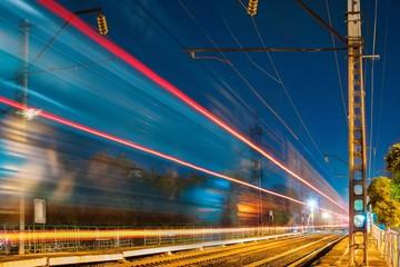 железнодорожный трафик