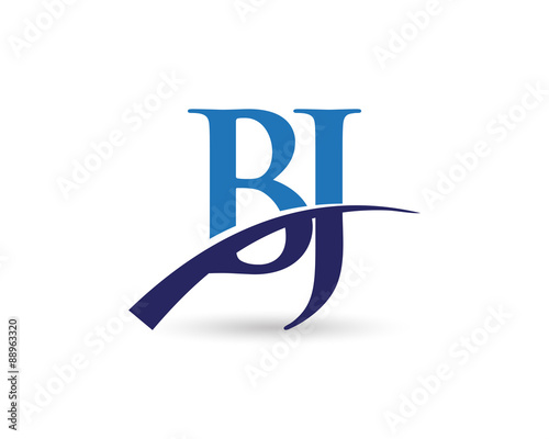 bj logo letter swoosh stock image and royalty free vector files on rh fotolia com bj login credit card bjs logo