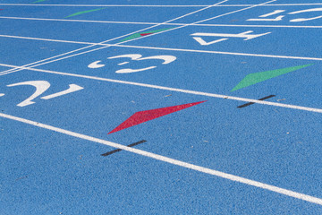 Blue High School Track Detail