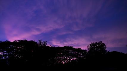 sky clouds twilight background