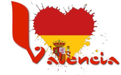 I love Valencia