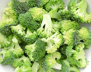 Fresh broccoli background