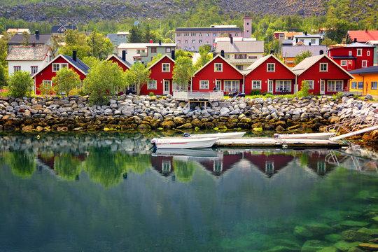 Gryllefjord, Senja island, Norway