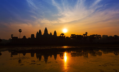 Sunrise in Angkor