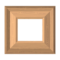 Empty wide frame pictures of boards. Vector Wood texture