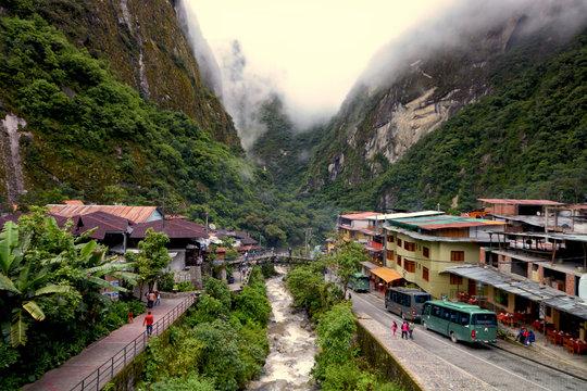 Aguas Calientes, Machu Picchu pueblo, Peru