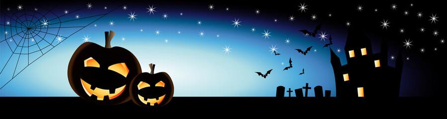 Halloween Banner - Vektor