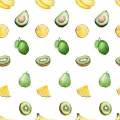 fruit seamless pattern