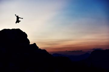 enerjik dağcı & cesur dağcı