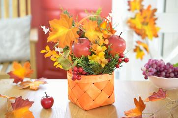 Obraz Jesienna dekoracja - fototapety do salonu