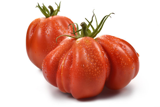 Two Beefsteak Tomatoes with Drops 1