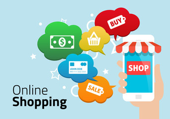 Online Shopping with Smart Phone