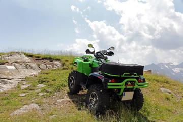 Motorsport mit dem ATV im Gebirge