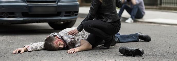 Man hit by car