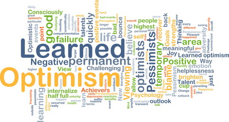 Learned optimism background concept