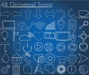 48 universal icons