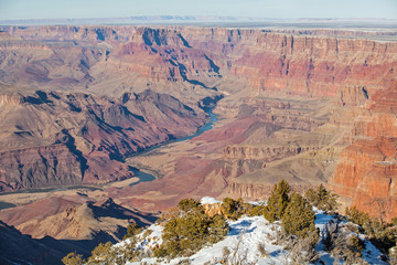 View of Colorado River at Grand Canyon