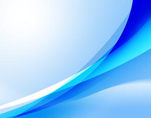 青のフラクタル模様
