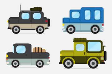 vector : cars off road design .