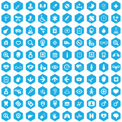 doctor 100 icons universal set