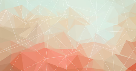 Pastel color low poly background