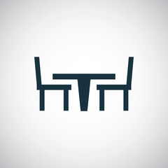table chair icon