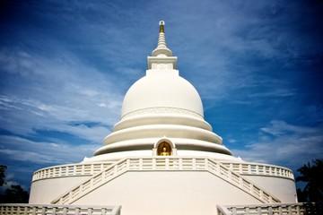 peace pagoda temple unawatuna, sri-lanka