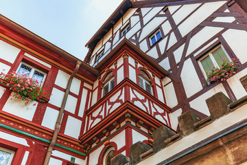 Forchheim City in Franconia, Germany / Outdoor Travel Pictures from Public Places on a warm summer day in this picturesque town