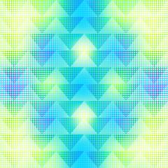 Digital geometric semless colorful pattern