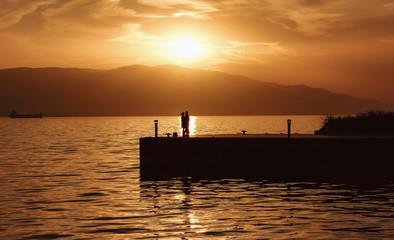 günbatımında aşk