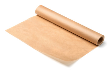 Roll of baking parchment paper