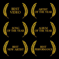 Music Video Awards Categories 2