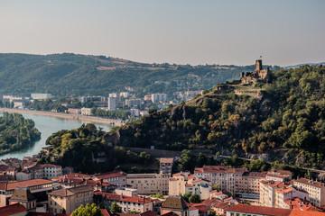 Vue générale de la ville de Vienne en Isère