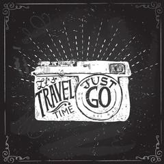Travel photo background