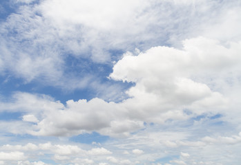 beautiful cloud and sky abstract background