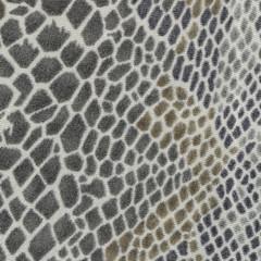 gray- brown textile texture as snake skin imitation