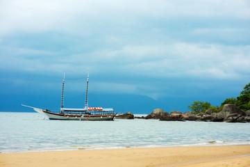 Island boat in Brazil