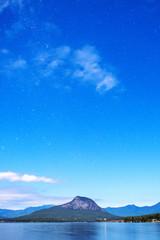 Stars over Lake Moogerah on the Scenic Rim in Queensland