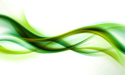 Photo sur Aluminium Ikea abstract green wave background