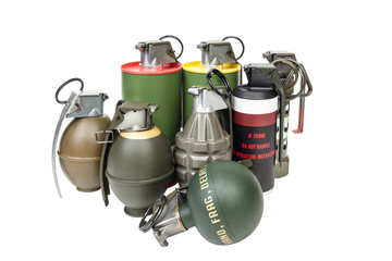 All explosives, weapon army,standard timed fuze, hand grenade on
