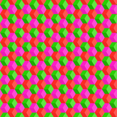 squares, colored background