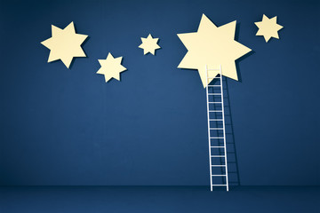 stars and ladder