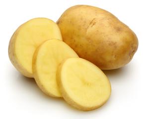 Potato group and slice potatoes
