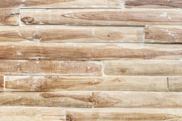New bare wooden wall texture and background