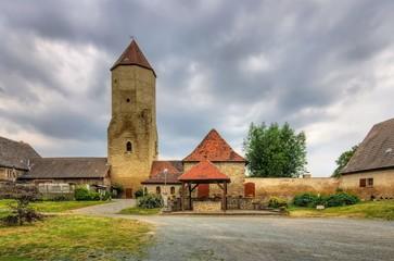 Freckleben Burg - Freckleben castle 02