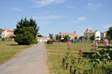 Accès au village de l'ile d'Aix