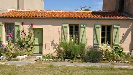 Maison typique, ile d'Aix
