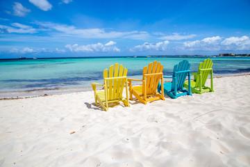 Printed roller blinds Caribbean Caribbean Beach Chair